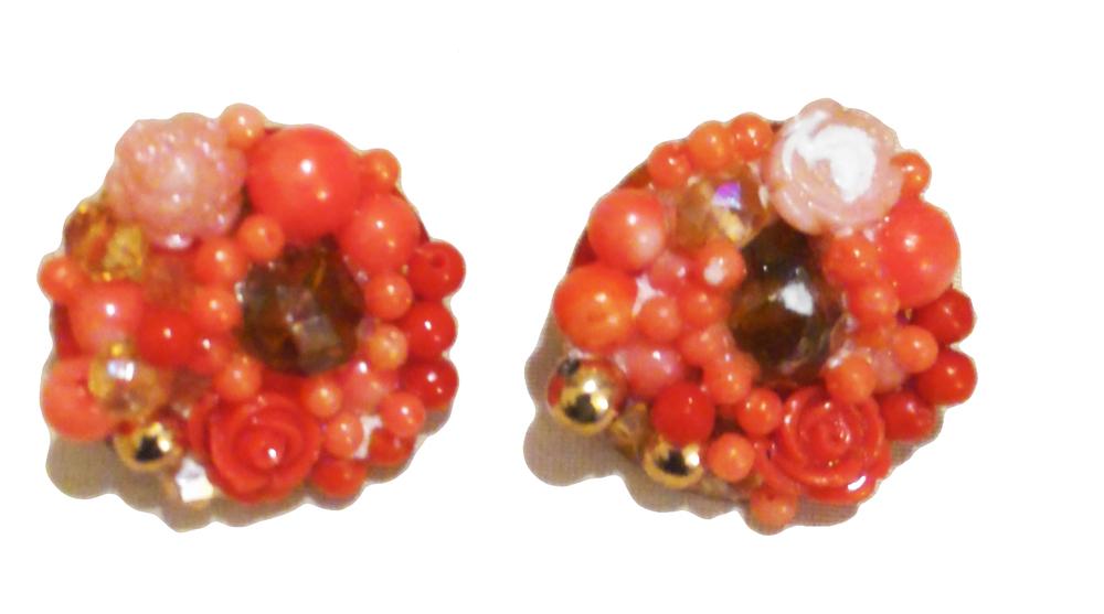 coral cluster earrings.jpg
