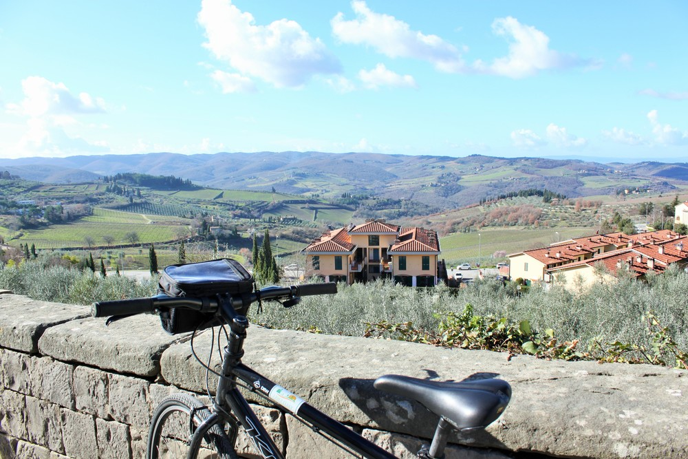 Bike Tour in Chianti via Curious Appetite Travel