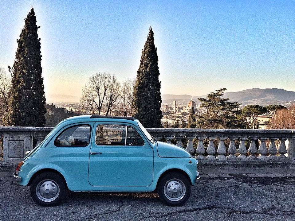 Fiat 500 Tour from Florence to zip through Chianti!