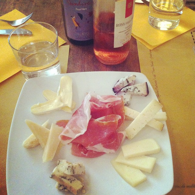 tasting artisan cheese on our gourmet tours in Florence  {Book Now}