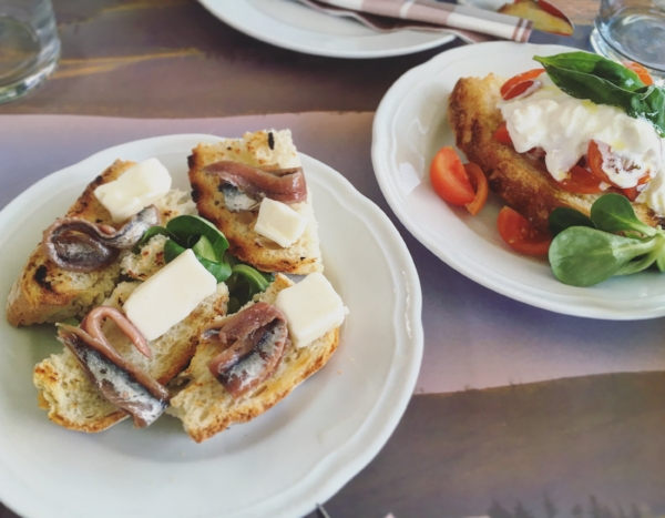 gourmet toasts at Signorvino