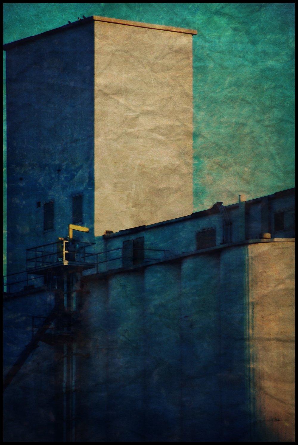 Blue Sky Silo, Susan McClory. 2016