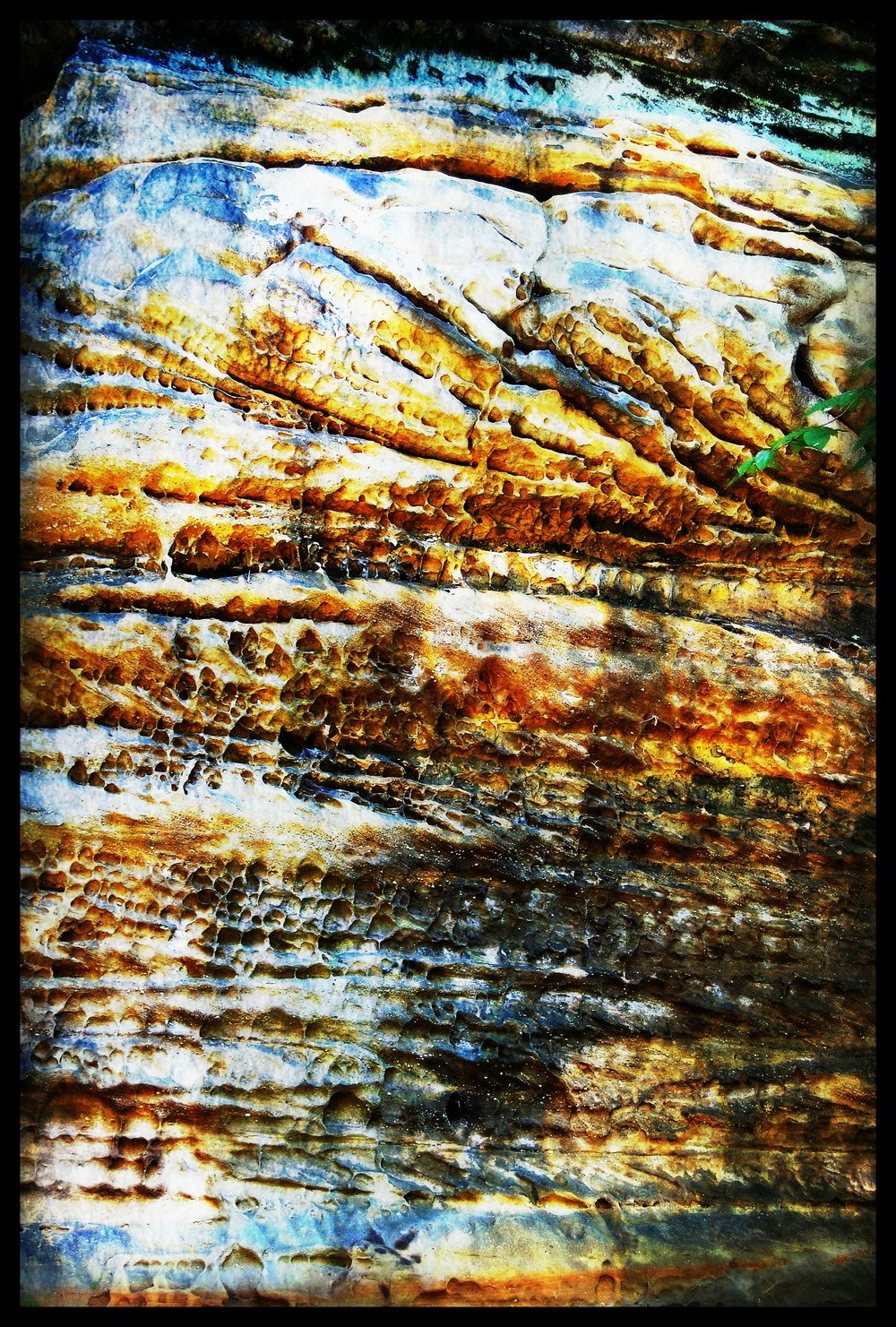 Rock Strata , Susan McClory 2016