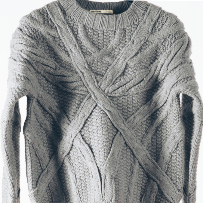 Garderobe Clothing: DECO CABLE SWEATER | Clothing,Clothing > Sweaters -  Hiphunters Shop