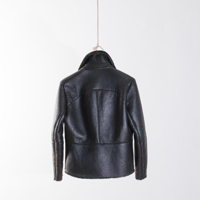 Garderobe Clothing: FLIGHT SHEEPSKIN JACKET   Clothing,Clothing > Coats -  Hiphunters Shop