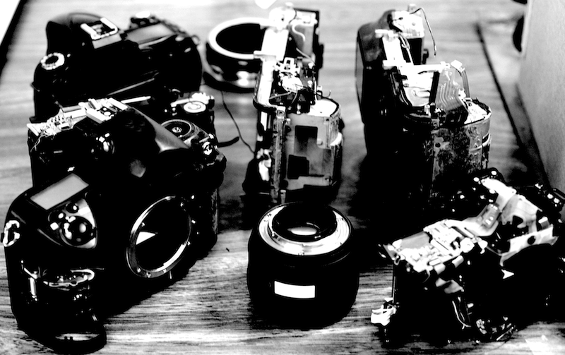 Camera bodies and Lenses