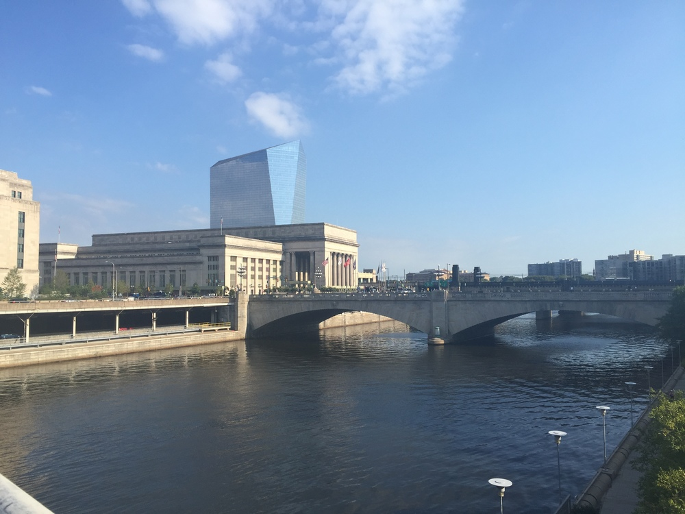 View of the Schuylkill River near Drexel University
