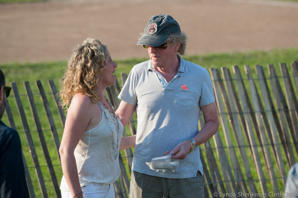 Amy Helm with Ian Hunter © 2014 Lynda Shenkman Curtis