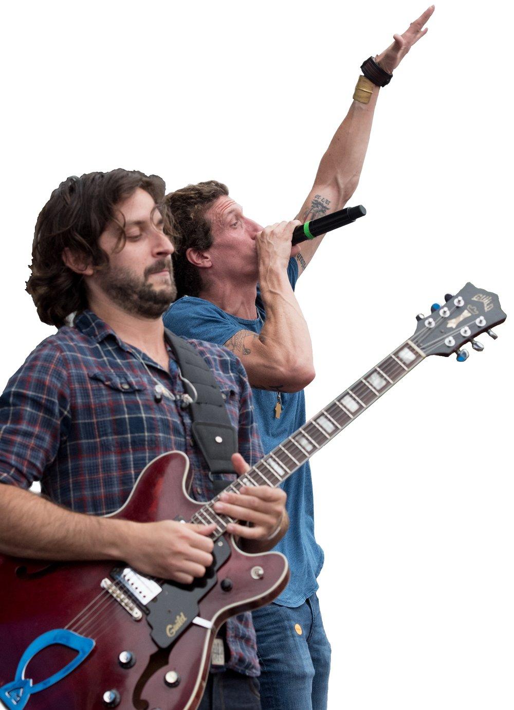 Zack Feinberg and David Shaw of The Revivalists  © 2016 Lynda Shenkman