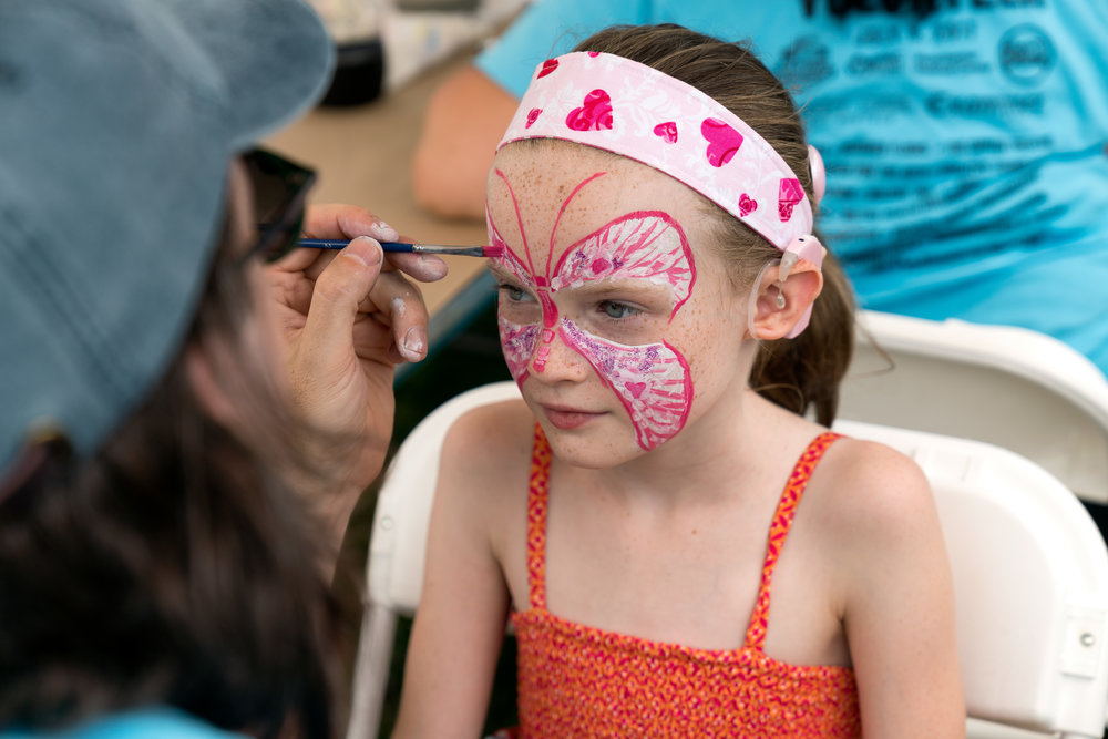 Face painting (1 of more than 300!) © Jonathan Cunningham
