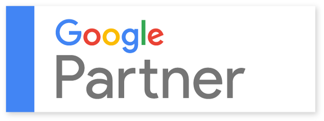 To view our Google Partner profile, click on the badge.