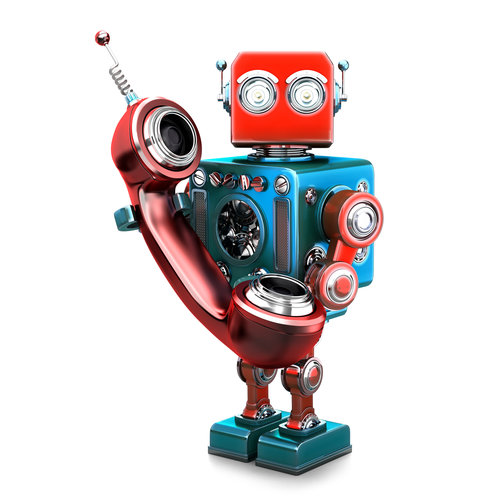 cold calling robot