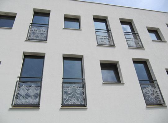 Lace fence betty hatchett for Home design zoetermeer