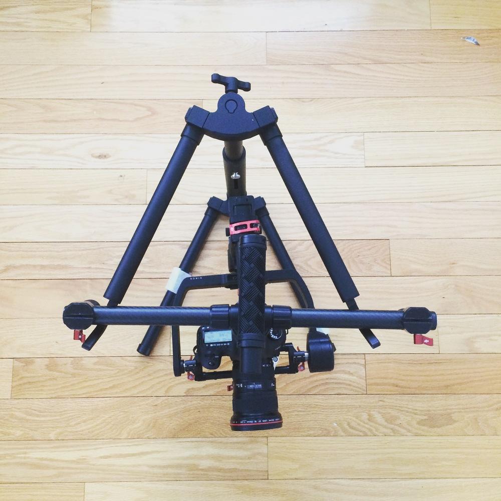 Canon 5D3 Balanced on DJI's Ronin M