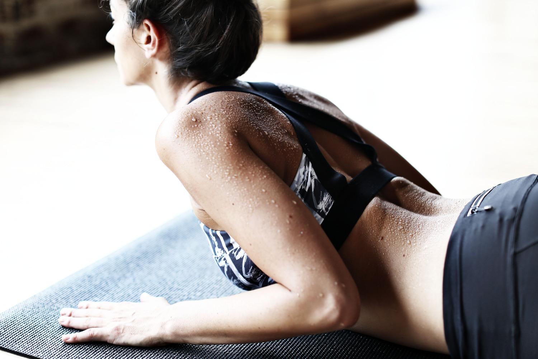 Hot Yoga Sweat Tips