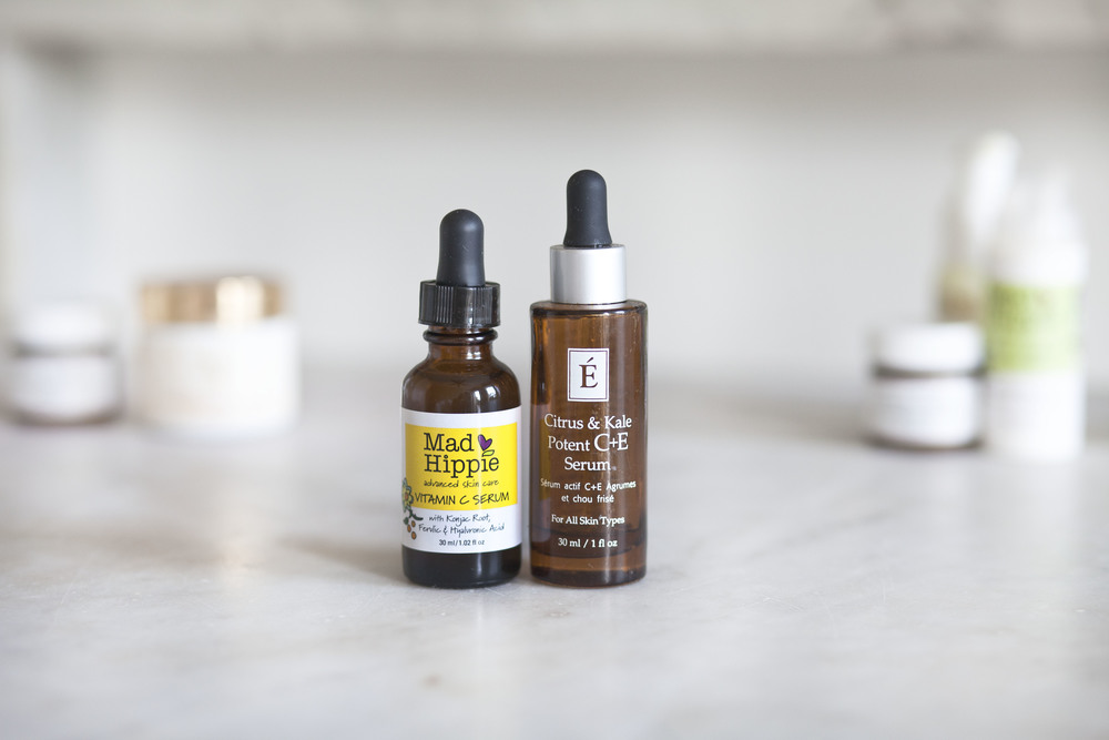The BEST serums.  The Kale is very lightweight and really quenches.  The Mad Hippie has Vitamin C to brighten and hyaluronic acid which is key to hydrating dry skin.