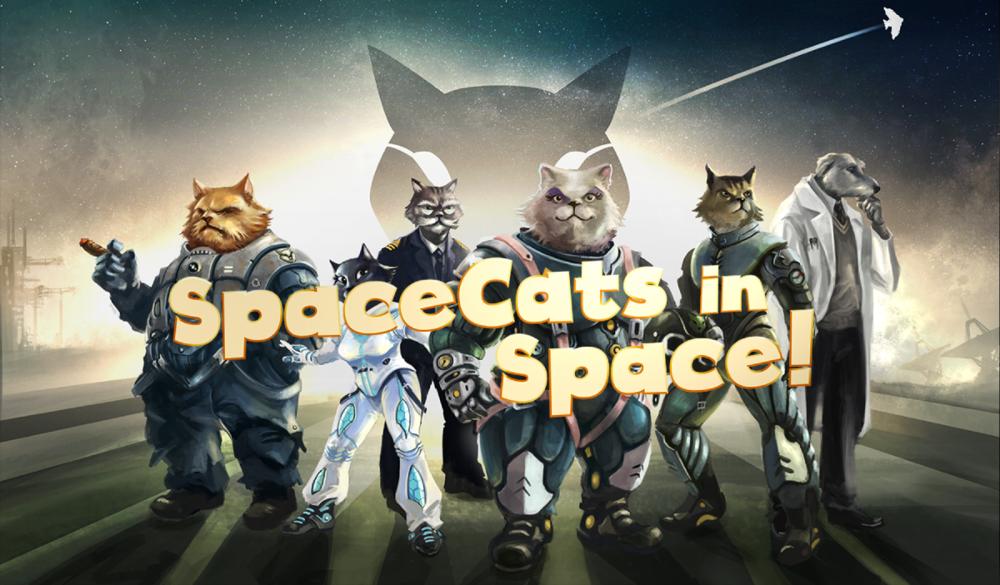SpaceCats in Space! | Robotic Potato