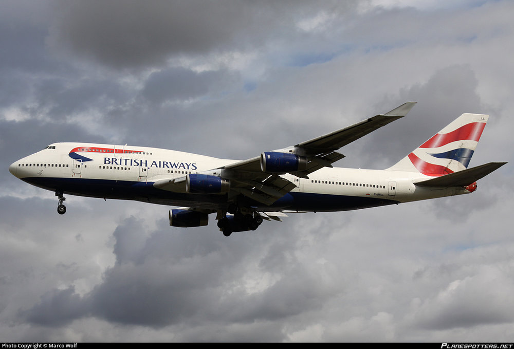 g-bnll - british airways delivered jun 1990 drove into building in jnb and scrapped dec2013   Steering tillers