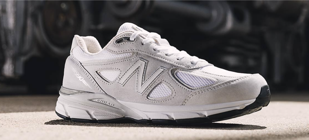 New Balance 990v4 - Made in the USA.