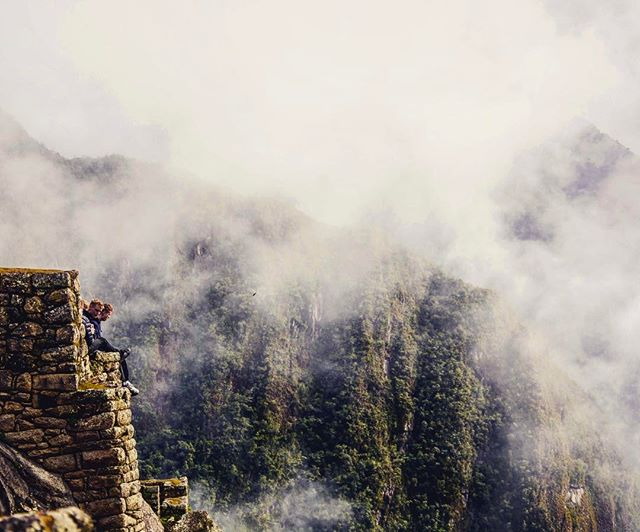 #landscapephotography #travel #traveling #people #cliff #clouds #trip