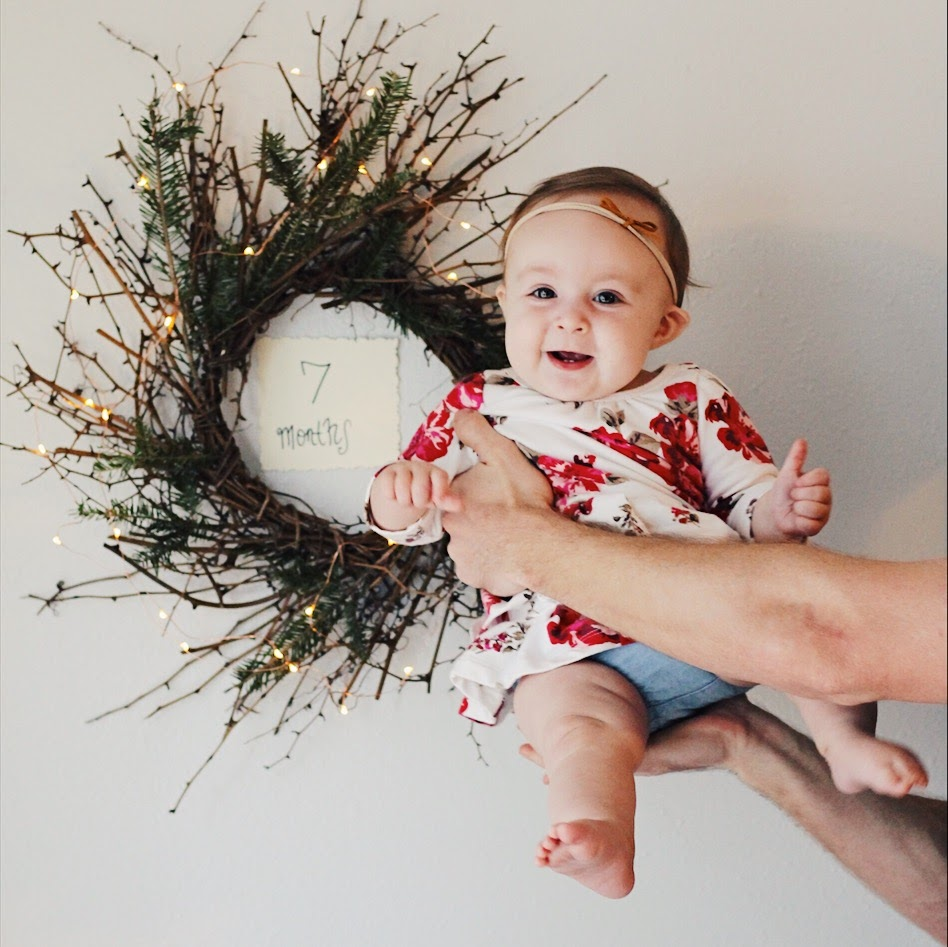 Eleanora, 7 months | Feathers and Roots