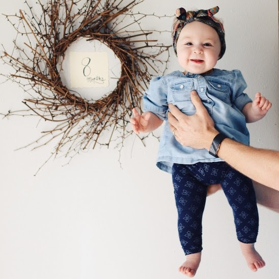 Eleanora Joy: 8 month baby update | Feathers and Roots