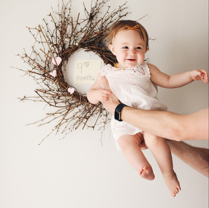 Eleanora 9 month baby update | Feathers and Roots