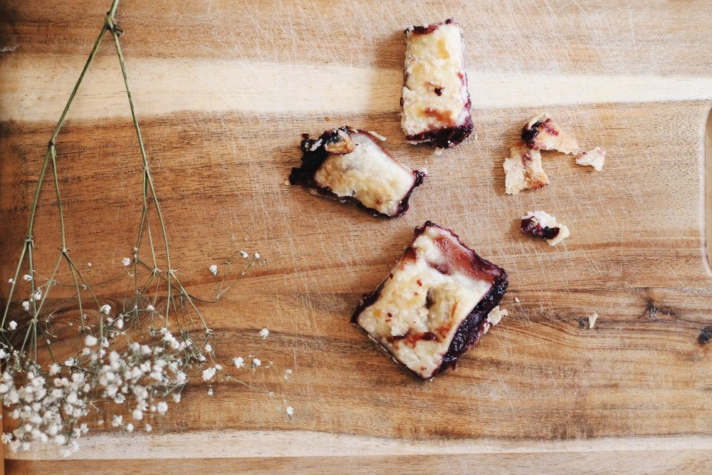 mixed berry pie bites recipe, a list of awesome things | Feathers and Roots