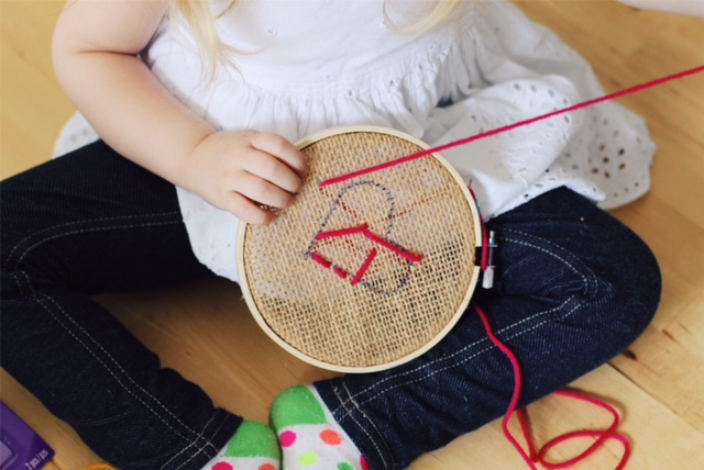 embroidery for children