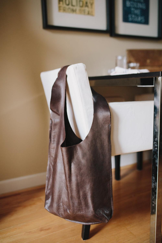 Erin's handmade bag line