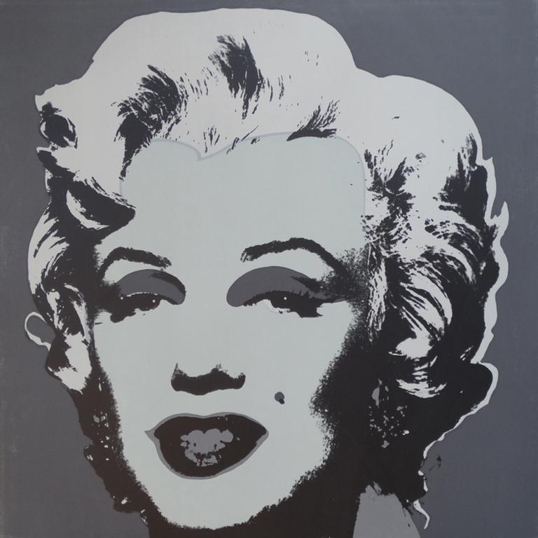 "Title: MARILYN MONROE; NO. 24 Year: 1980 Medium: SILKSCREEN Image size: 36""X36"""