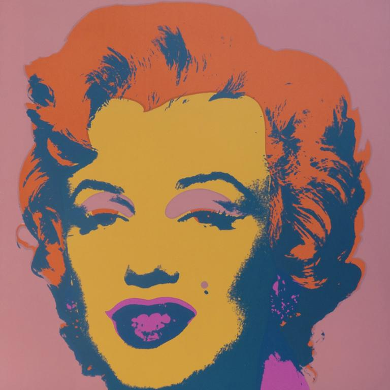 "Title: MARILYN MONROE; NO, 27 Year: 1980 Medium: SILKSCREEN Image Size: 36""X36"""