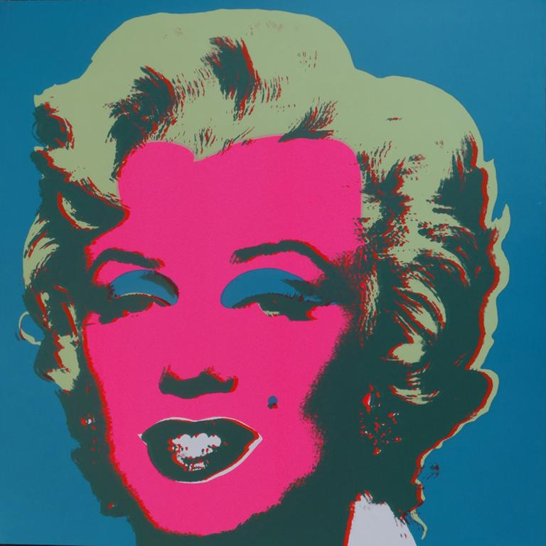 "Title: MARILYN MONROE; NO 30 Year: 1980 Medium: SILKSCREEN Image size: 36""X36"""
