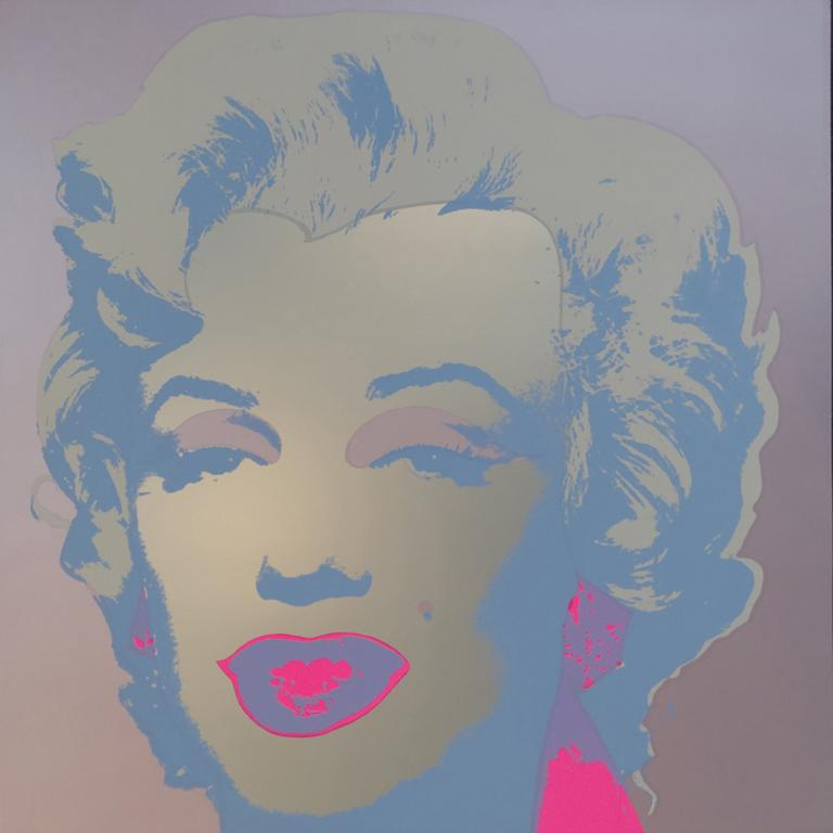 "TITLE: MARILYN MONROE; NO. 26 YEAR: 1980 MEDIUM: SILKSCREEN IMAGE SIZE: 36""X36"""