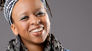 """Micky ScottBey Jones - Micky activates the community. Named one of the Black Christian leaders changing the world in Huffington Post, Micky is the Director of Healing Justice at Faith Matters Network. She is currently serving as an Associate Fellow for Racial Justice with Evangelicals for Social Action. An activist-in-residence at Scarritt Bennett Center, she is a perpetual learner, """"justice doula"""", consultant, facilitator, mama/sister/friend, nonviolence practitioner and contemplative activist living just south of Nashville, TN.Civic Engagement Advisor"""