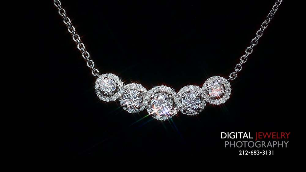 necklace swarovski small creative photography product