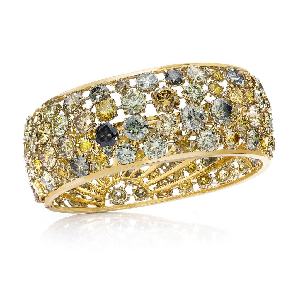 B9662-FC 96.62 CTTW Natural Fancy Color Diamond bracelet Raised.jpg