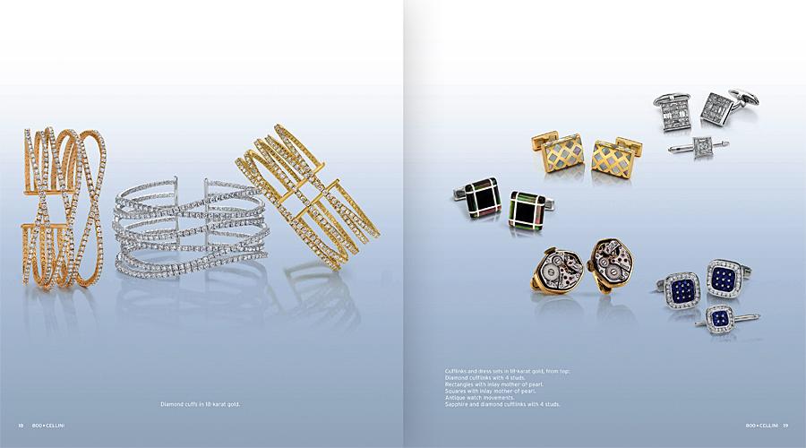 Cellini Jewelers Cufflinks and Bangles Fall Catalog tearsheet.jpg