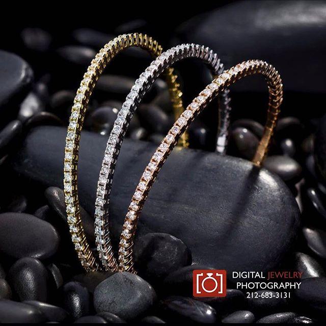 Stunning diamond braclets for Gem Platinum @jeffreydanielsuniquedesigns #lifestylephotography #diamondbracelet #luxurylifestyle #jewelryphotography