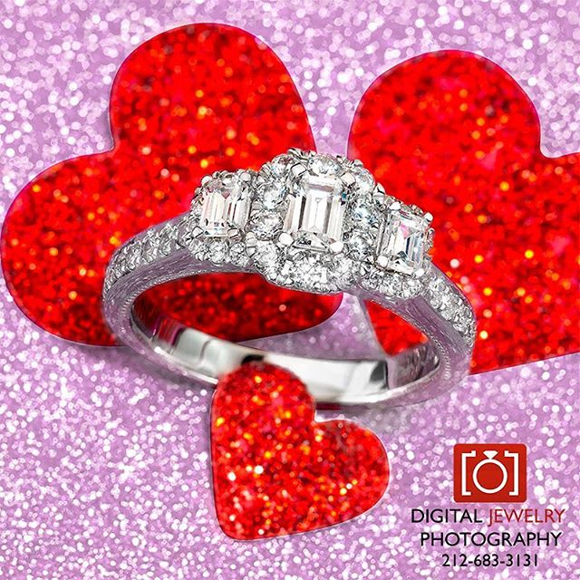 Love is in the air. Can't wait for Valentines Day.  #valentines #lovejewelry #romantic #jewelryphotography #willyoumarryme