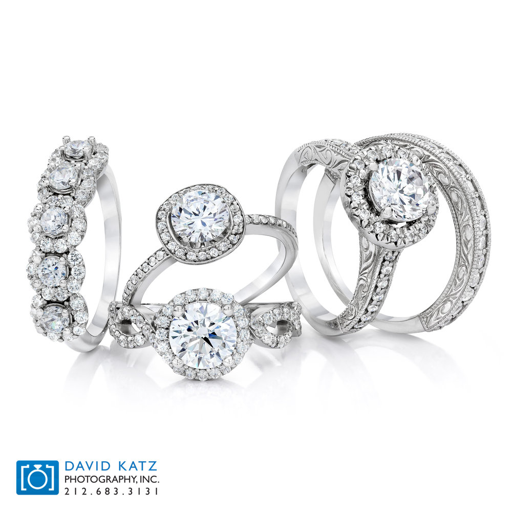diamond ring group bridal stack