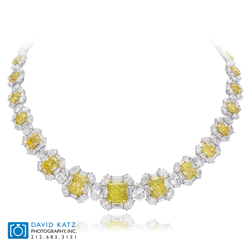Yellow Diamond Necklace On Bust.jpg