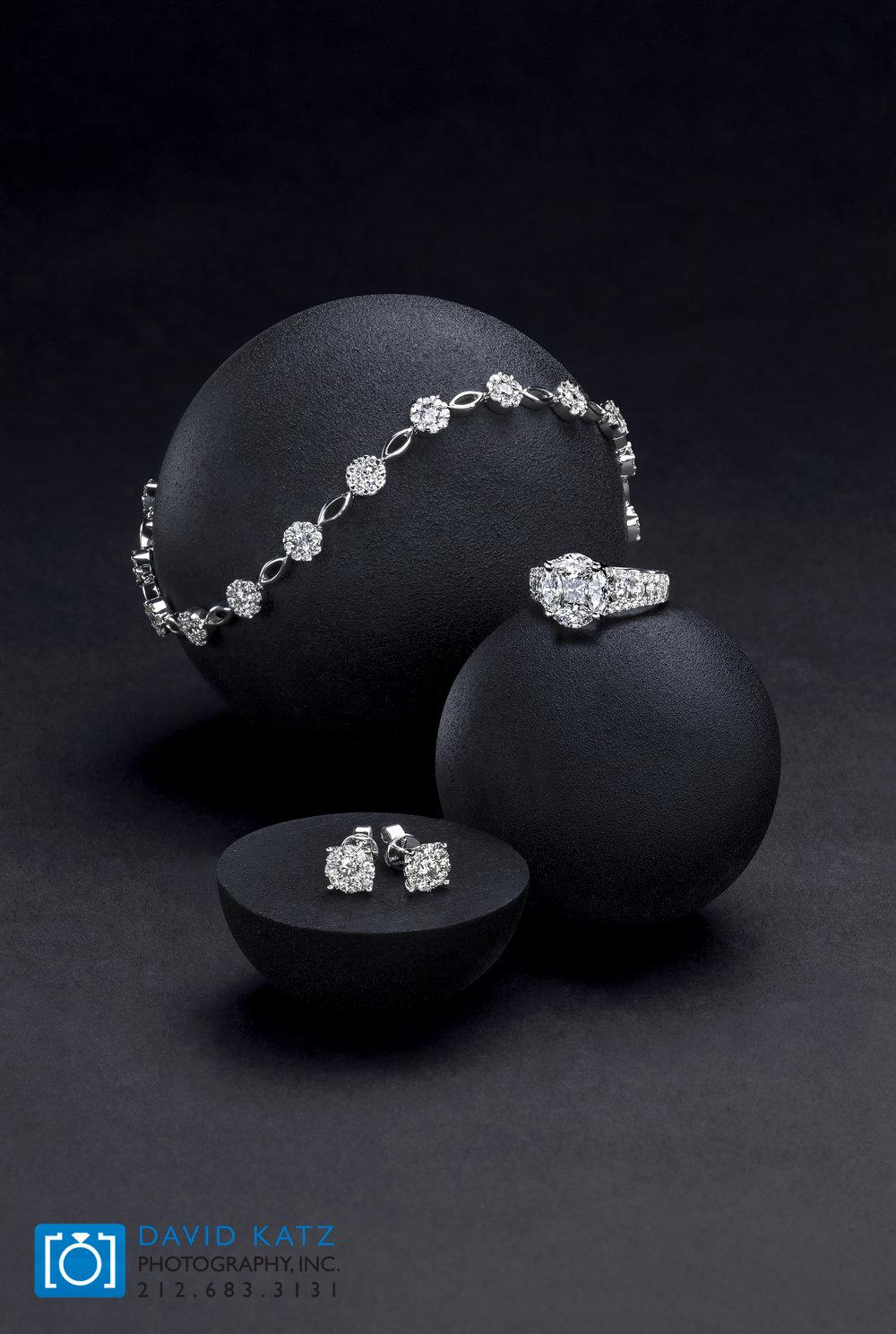 Earring RIng Bracelet Jewelry Lifestyle Group on Balls.jpg
