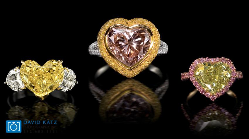 Yellow Pink Diamond Heart Ring.jpg