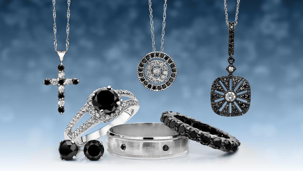 black diamond catalog group tearsheet ad necklaces rings earrings.jpg