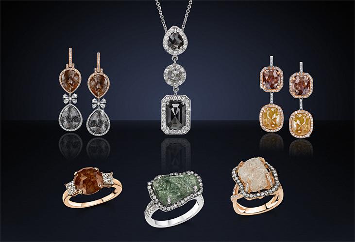 Diamonds For a Cure Raw Diamonds catalog tearsheet ad.jpg