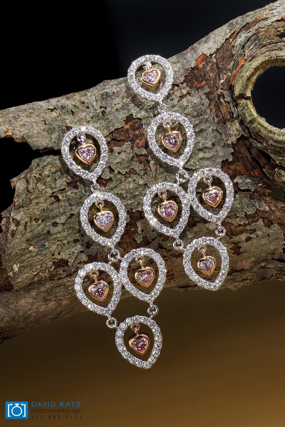 Pink Heart Diamond Earrings on a log_NEWLOGO.jpg