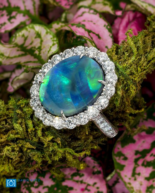 Opal Diamond Ring Lifestyle Moss-2.jpg