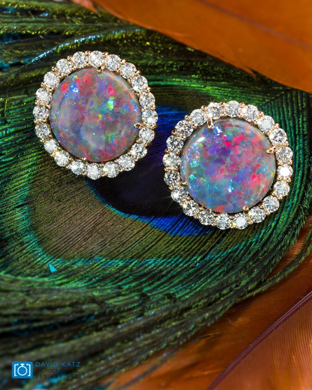 Opal Halo Diamond Earrings-2.jpg