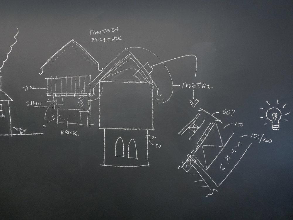 Rectory Building Concept Sketch